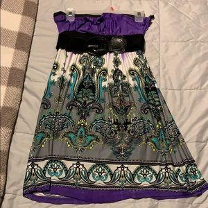 Stapless dress